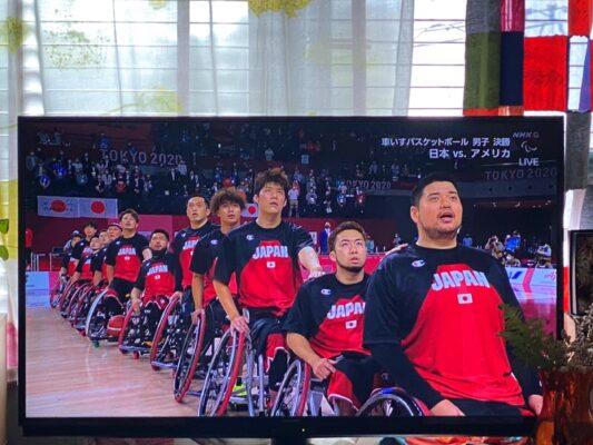 パラリンピック 男子車いすバスケットボール 決勝戦